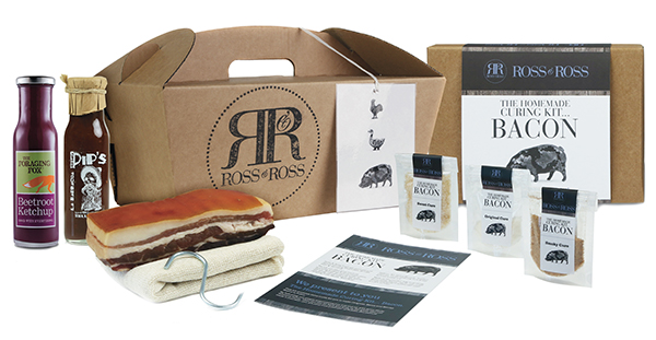 homemade bacon sandwich kit
