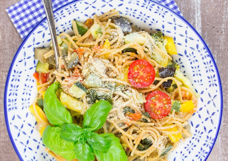 low calorie vegetable spaghetti