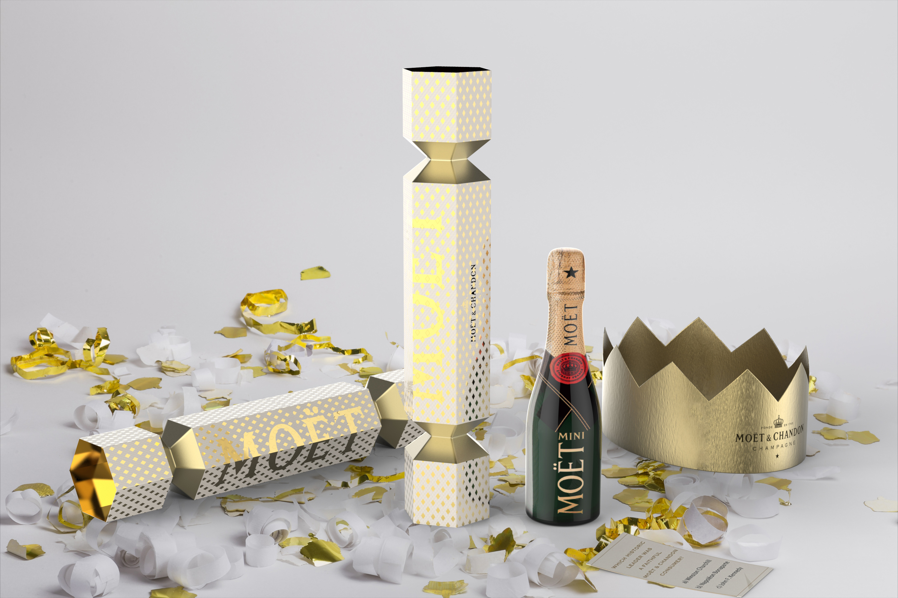 mini moet blanc cracker