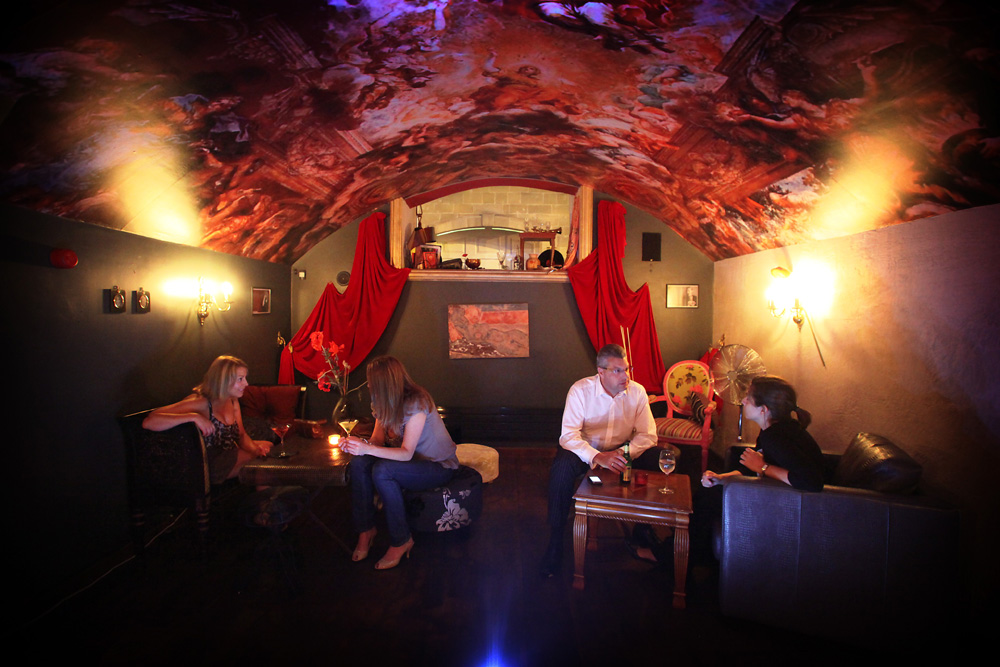 Opium secret rooms