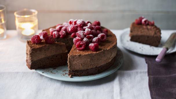 Celebration Chocolate Mousse Cake Mary Berry