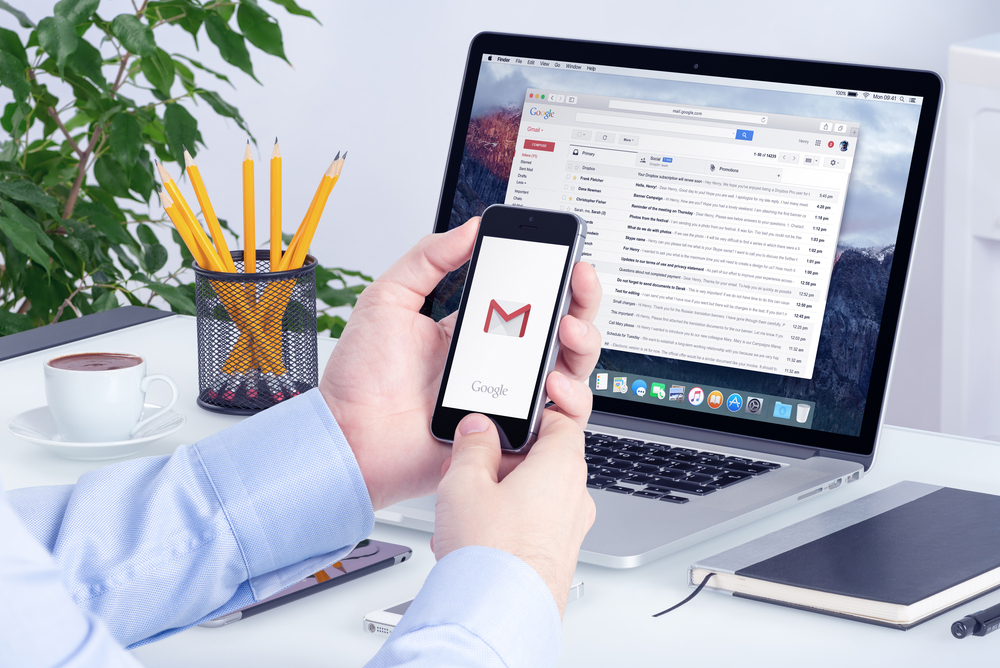 gmail set up
