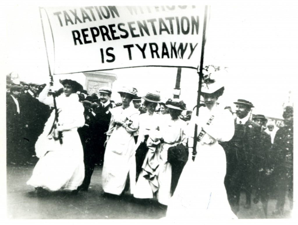 taxation suffragette