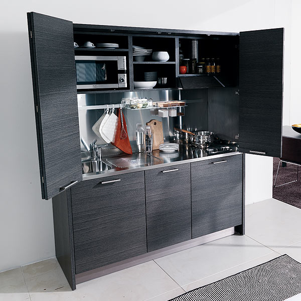 Compact Kitchen: How To Have An Entire Kitchen In A Cupboard
