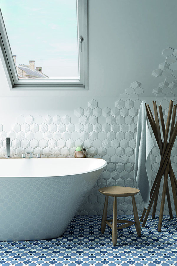 how to design bathroom tiles