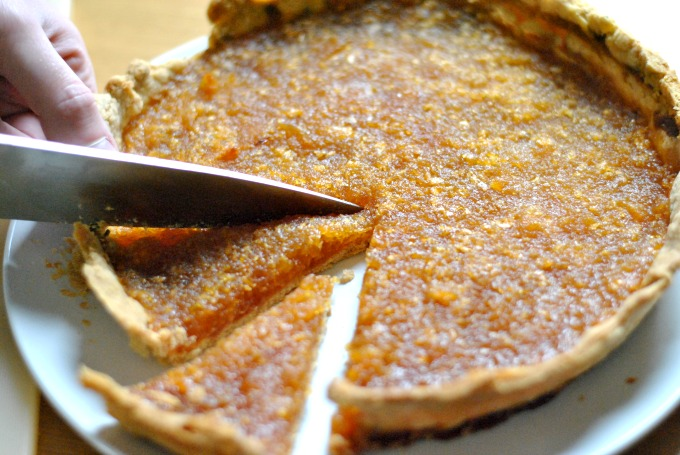 rosemary and treacle tart recipe