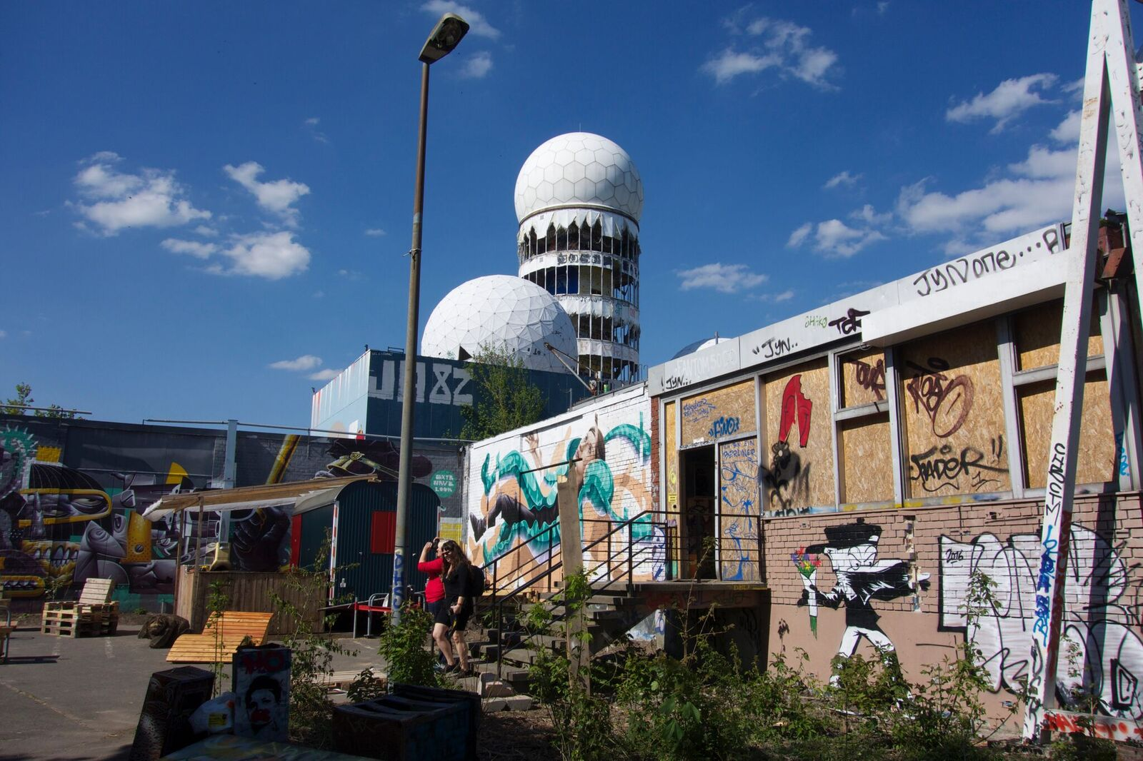 street art on the radome