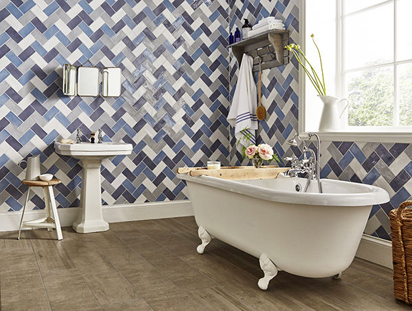how to use patterned tiles
