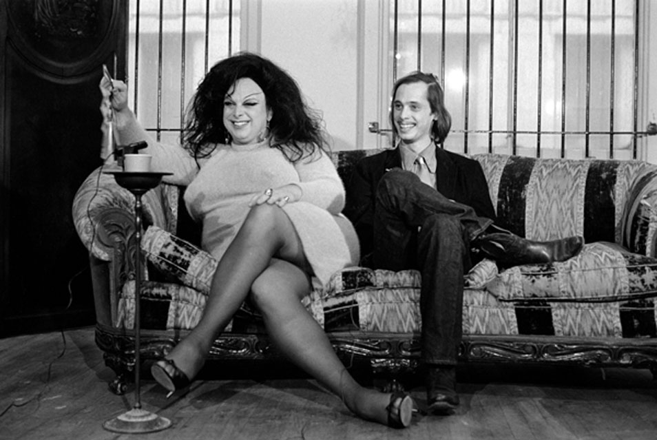 young john waters with Divine