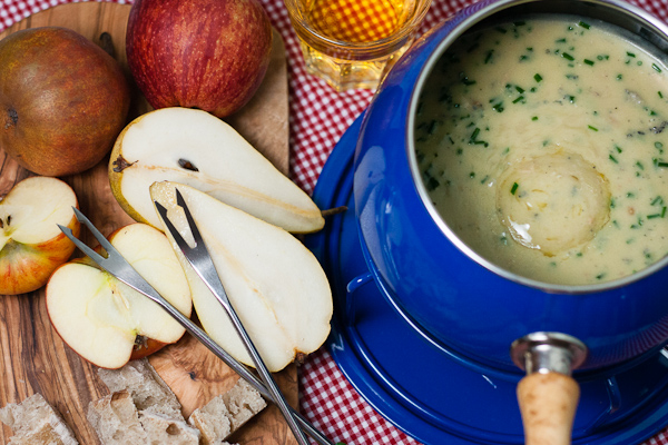 Apple and Pear Fondue