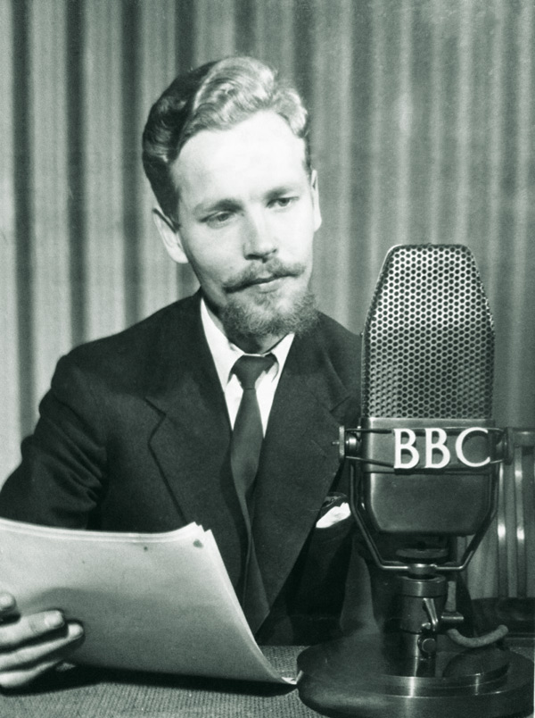 Sandi Toksvig's Father