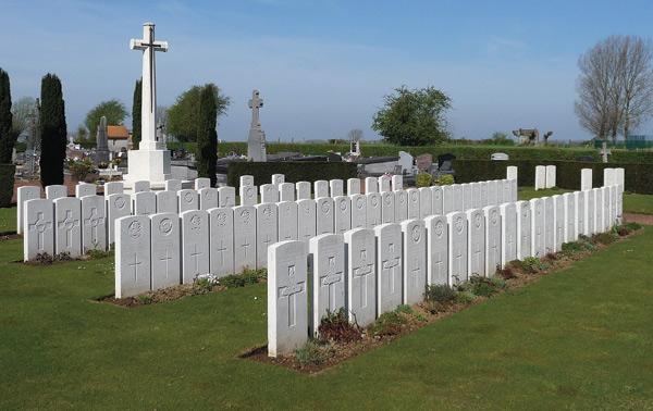 WW1 Gravesotnes