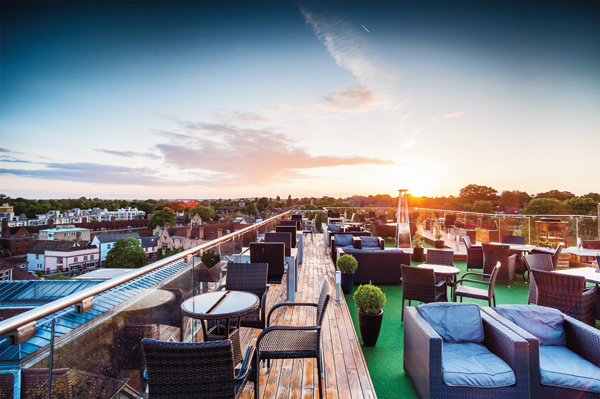 The Roof Terrace Cambridge