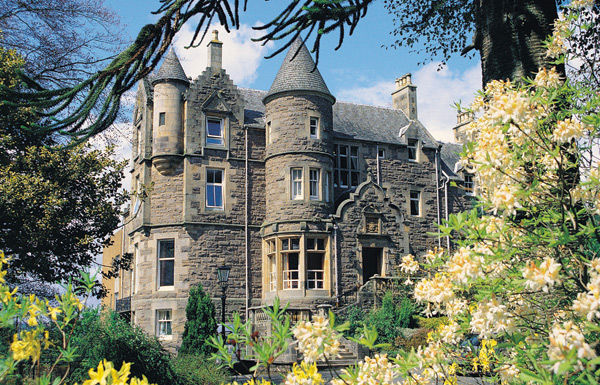 Knock Castle Perthshire