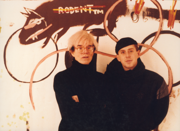 Andy Warhol and Holly Johnson