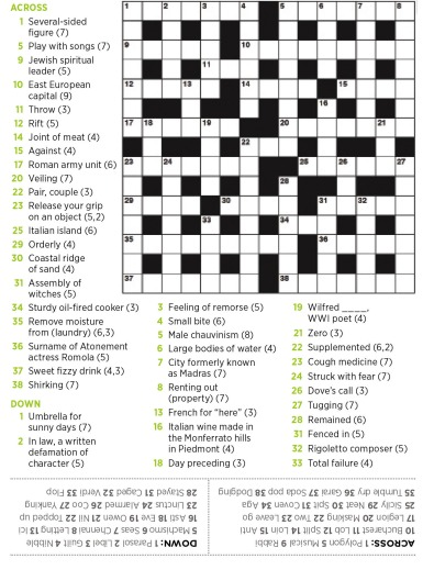 Crossword 10