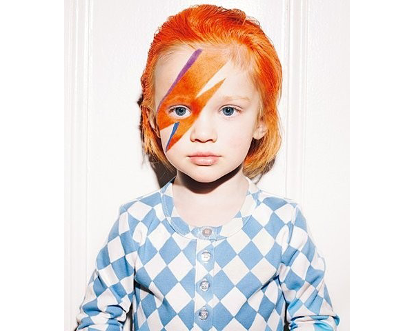 Haloween Bowie Child