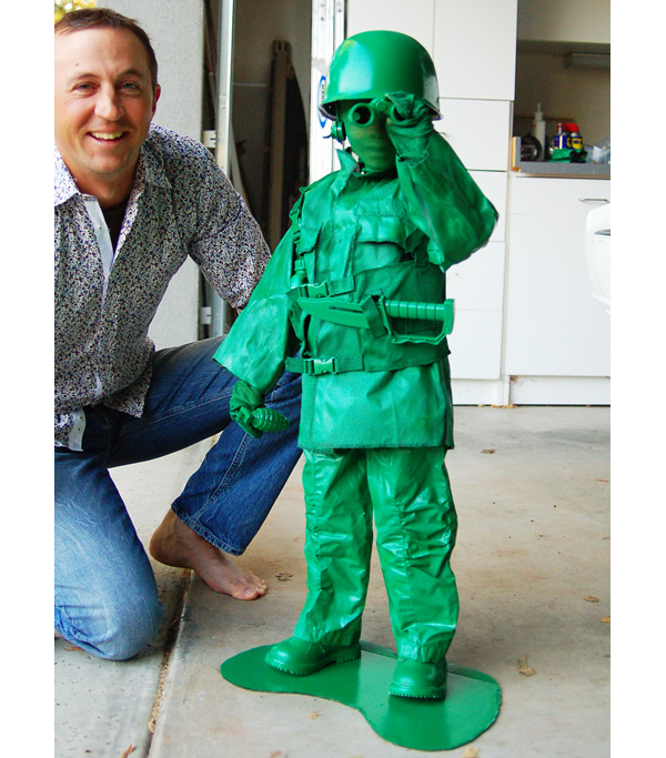 Halloween Green Army Man