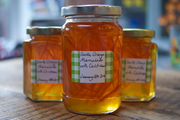 Seville Marmalade with Cointreau