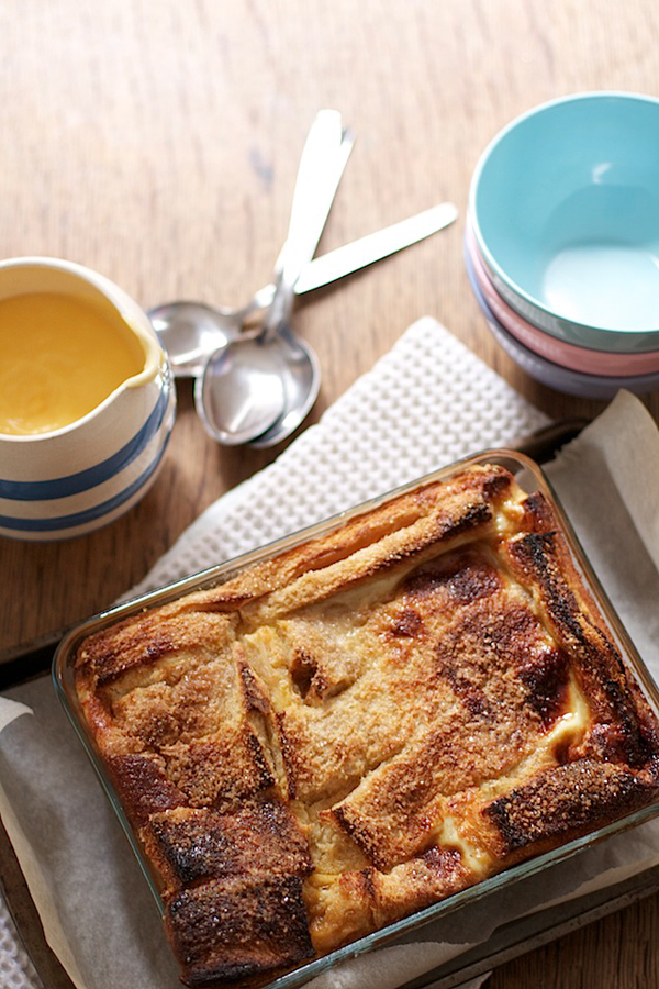 Marmalade Bread and Butter Pudding