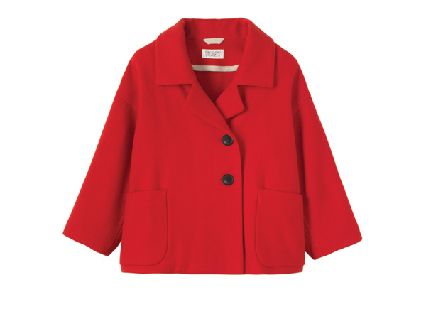 Toast Red statement jacket