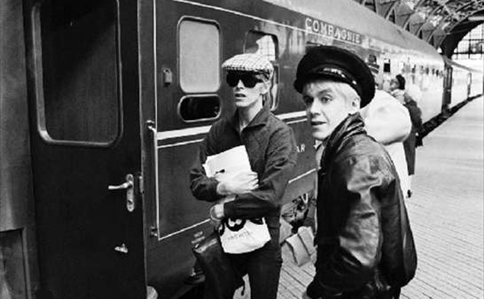 Dvid bowie and iggy pop