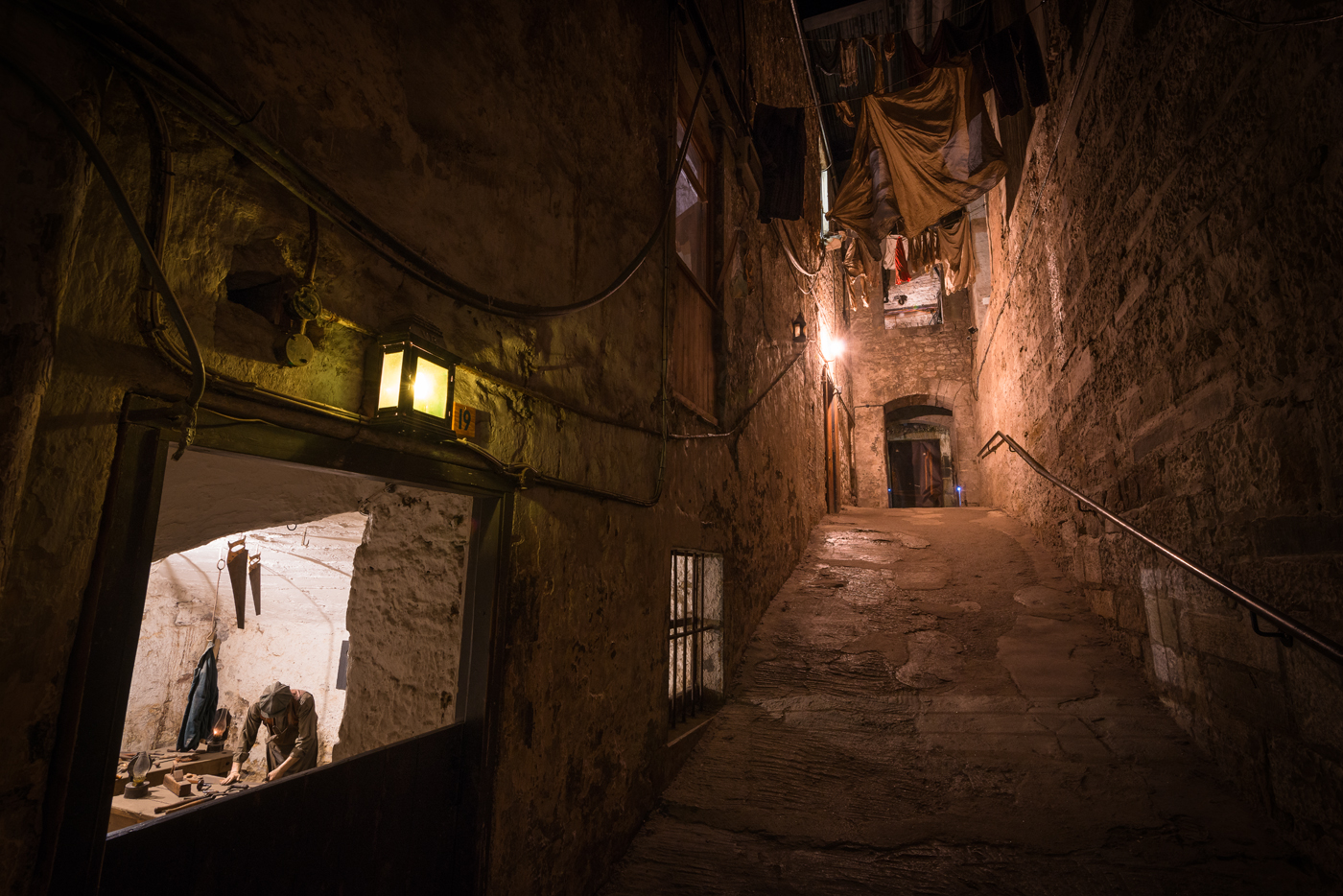 Real Mary King's Close Edinburgh
