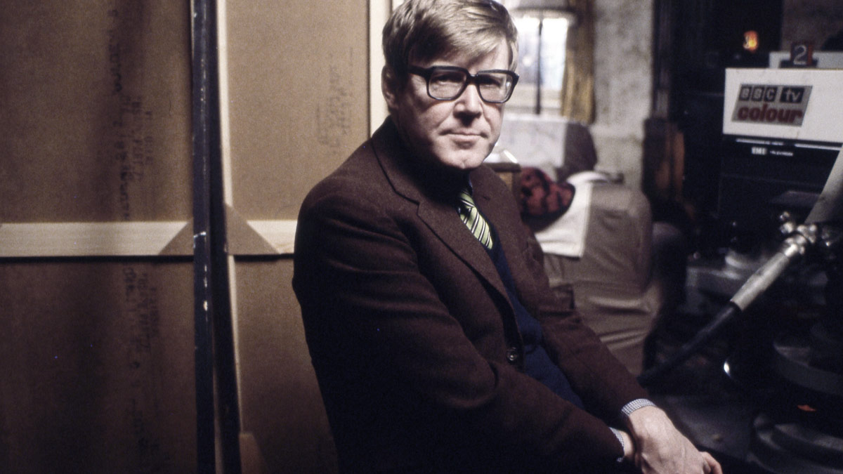Alan Bennett in his younger days at the BBC