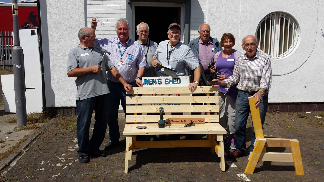 Barrhead Men's Shed opens