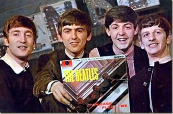 Please Please me rare beatles record
