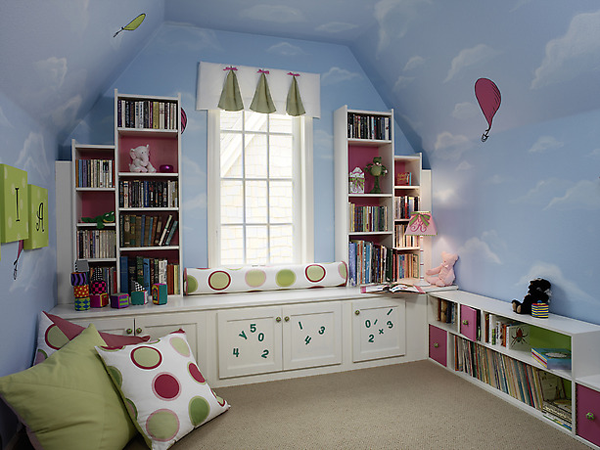 Spruce up your childs bedroom cheap