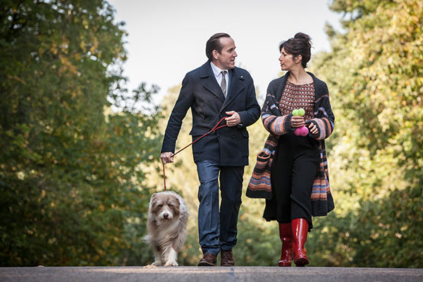 Caroline Catz and Ben Miller in I Want My Wife Back