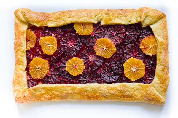Blood Orange Clementine Galette