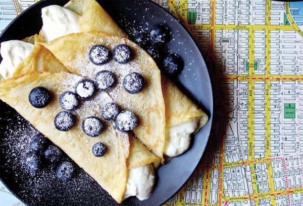 blueberry blintz