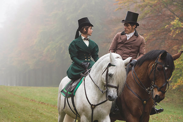 Coleman as Victoria and Rufus Sewell as Lord Melbourne