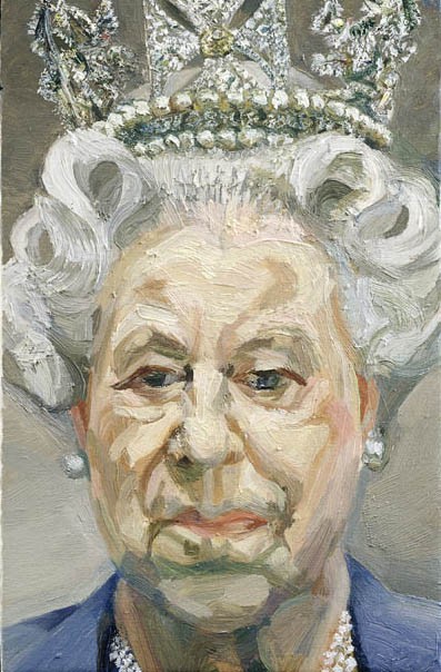 Lucian Freud's portrait of Queen Elizabeth
