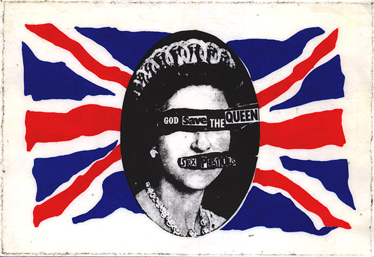 Jamie Reid God Save the Queen