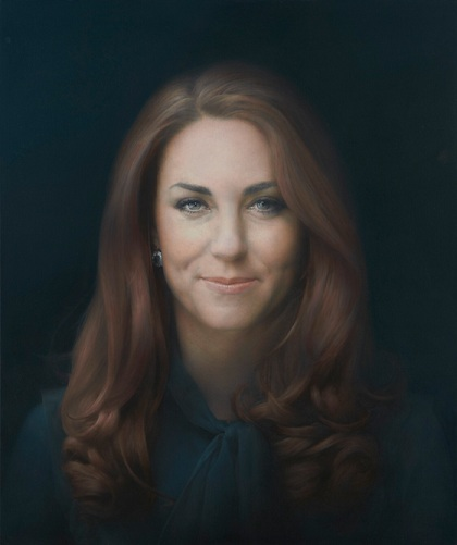 Kate Middleton by Paul Emsley
