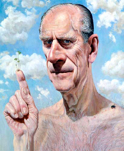 Prince Phillip by Stuart Pearson Wright