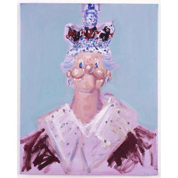 George Condo's Cabbage Patch Queen