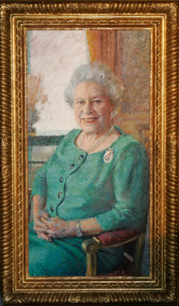 Queen Elizabeth by Rolf Harris