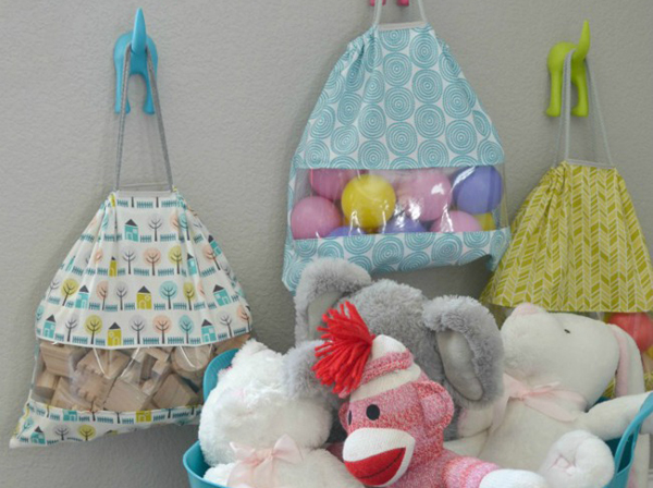 Toy sacks that are homemade