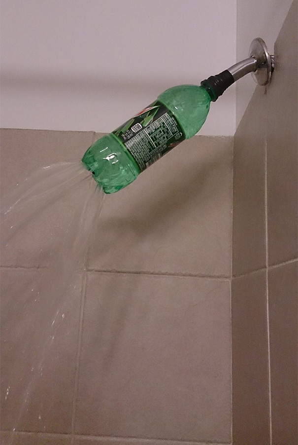 A delicious, refreshing shower