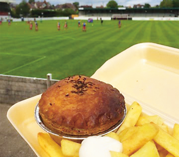 The Chicken Balti Pie: For Footballers