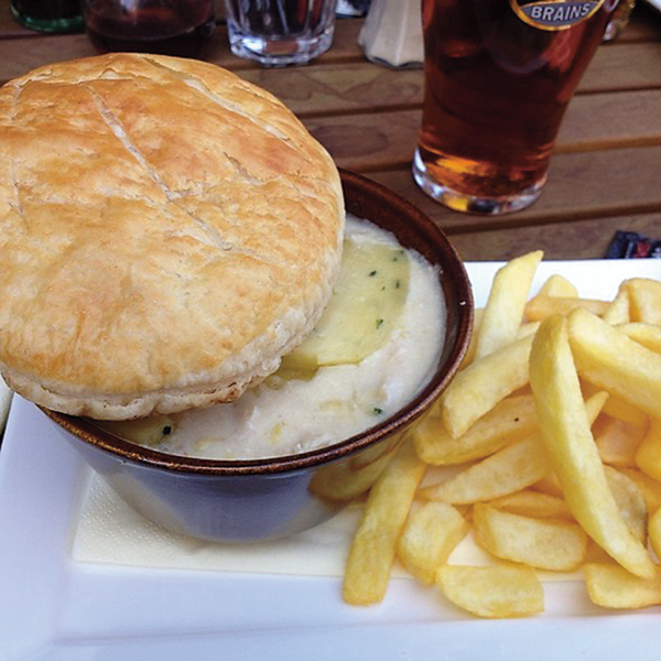 Wye Valley Pie The Goat Major Cardiff