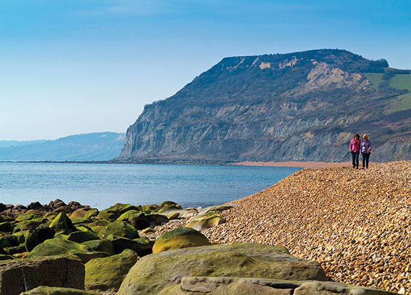 A walk along the Jurassic Coast in Dorset