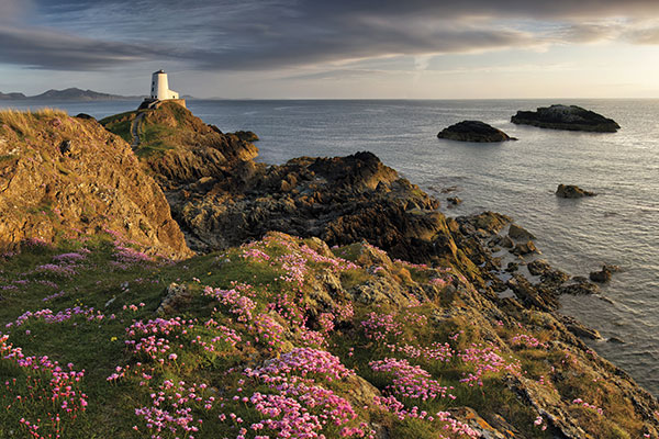 A walk across the beautiful coast line of Llanddwyn Island