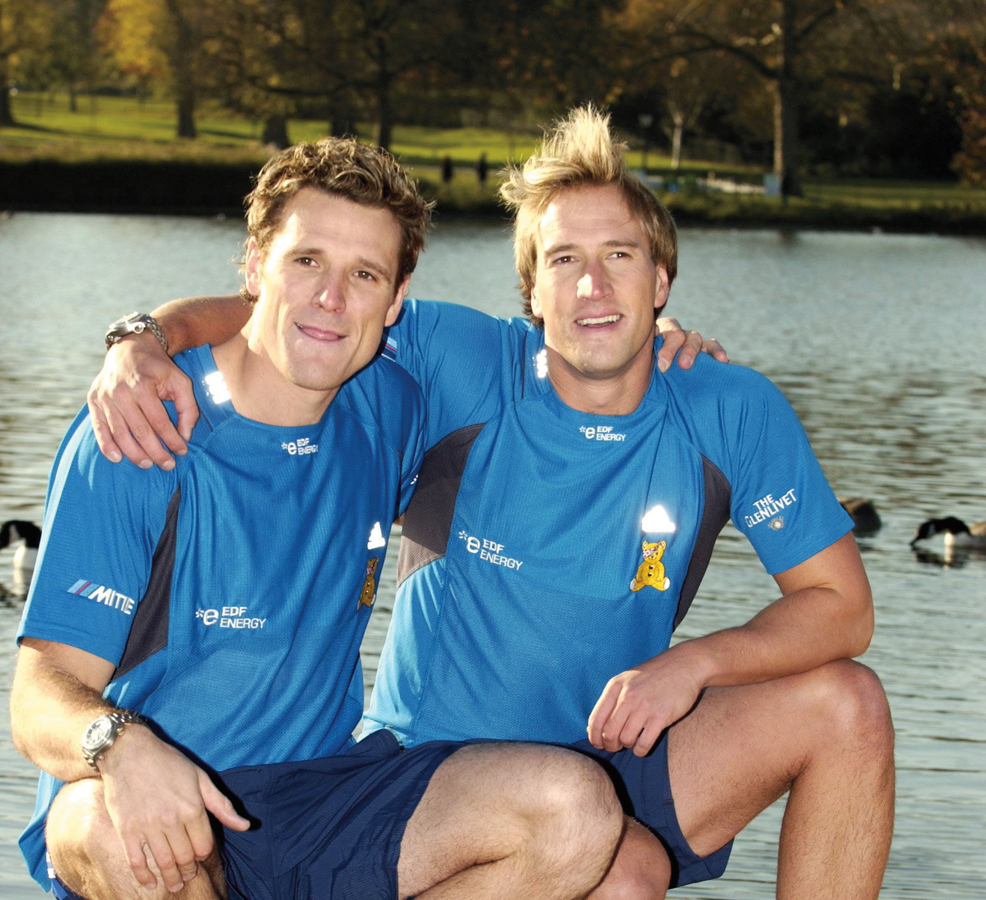 Ben Fogle and James Cracknell