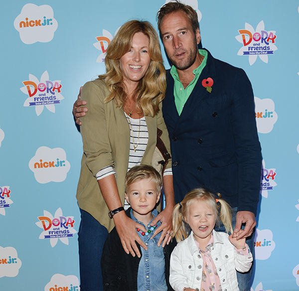 Ben Fogle wife and family