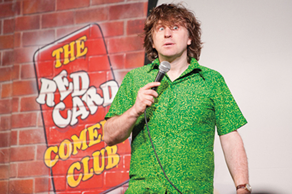 Red card comedy club